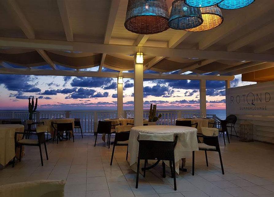 rotonda dinner area